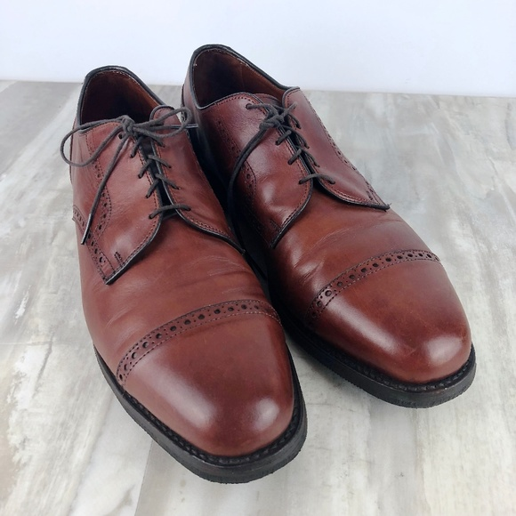 Allen Edmonds Other - Allen Edmonds Benton Derby Oxford Dress Shoes 14 c8ec09297fc